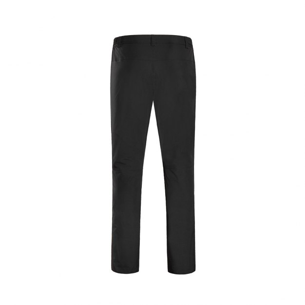 Black Windbreak Men's Pants