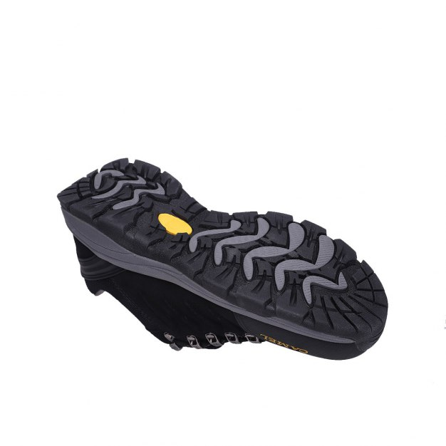Black Wear-Resistant Outdoor Men's Hiking Shoes