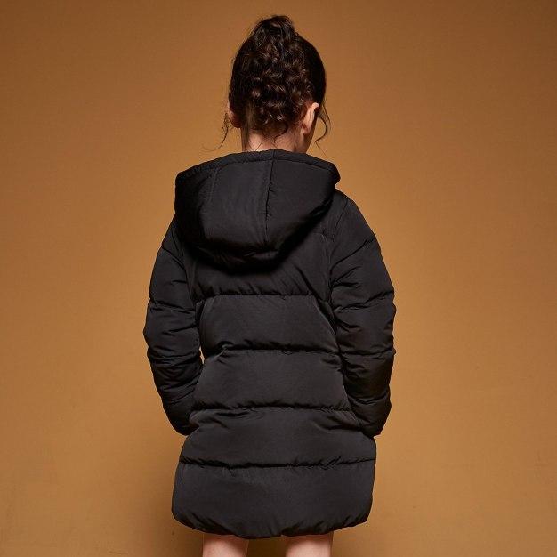 Black Girls' Down Jacket