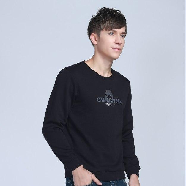 Black Warm Men's Sweatshirt