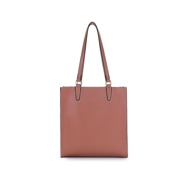 Plain Pvc Bucket Bag Big Women's Shoulder Bag