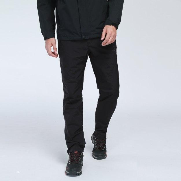 Black Windbreak Men's Pants