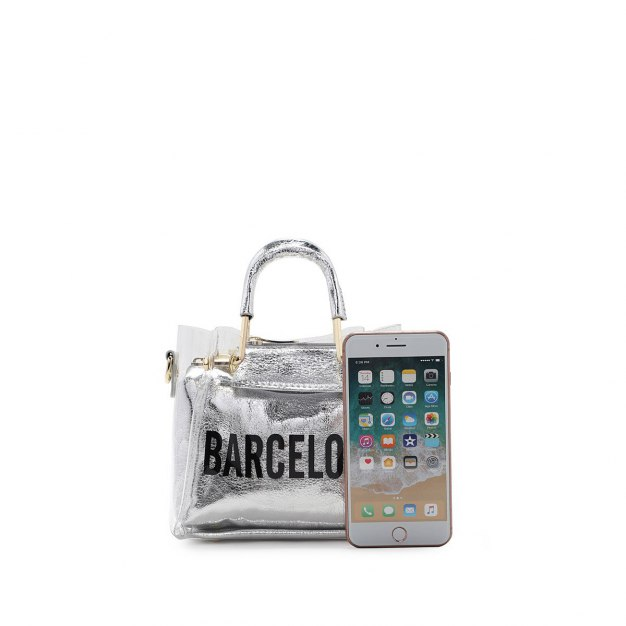 Pvc 2 Pieces Bag Small Women's Tote