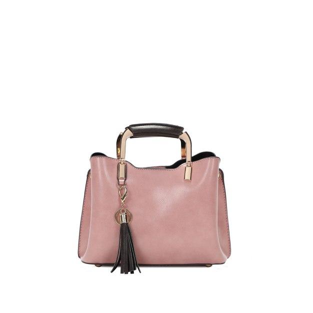Plain Pvc Bucket Bag Small Women's Tote