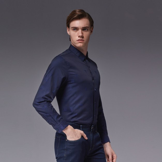 Blue Men's Shirt