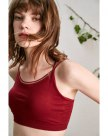 Red Fitted Women's Cami