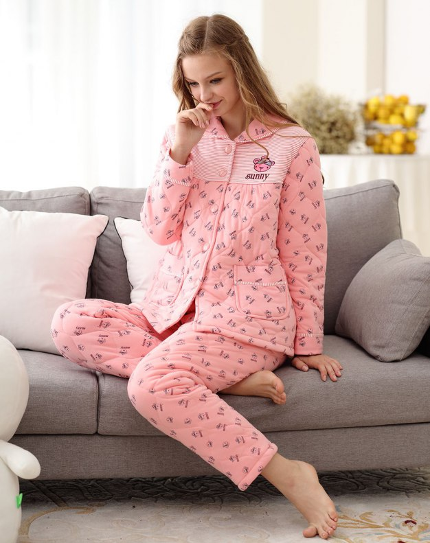 Ex Thick With Cotton Inside Women's Loungewear