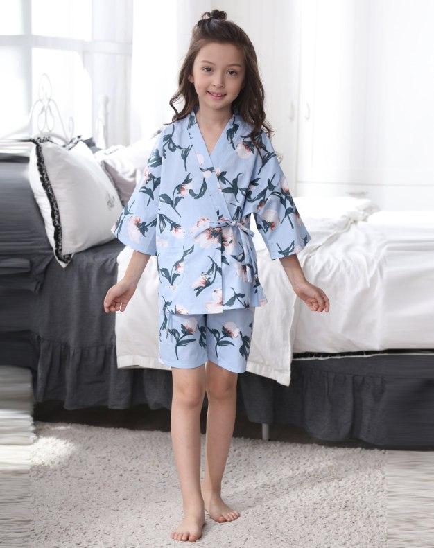 Blue Girls' Loungewear