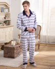Gray Cotton Sleeve Standard Men's Loungewear