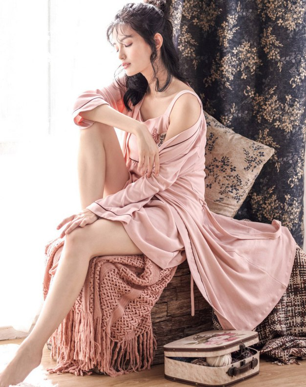 Cotton Thick Women's Night-Robe