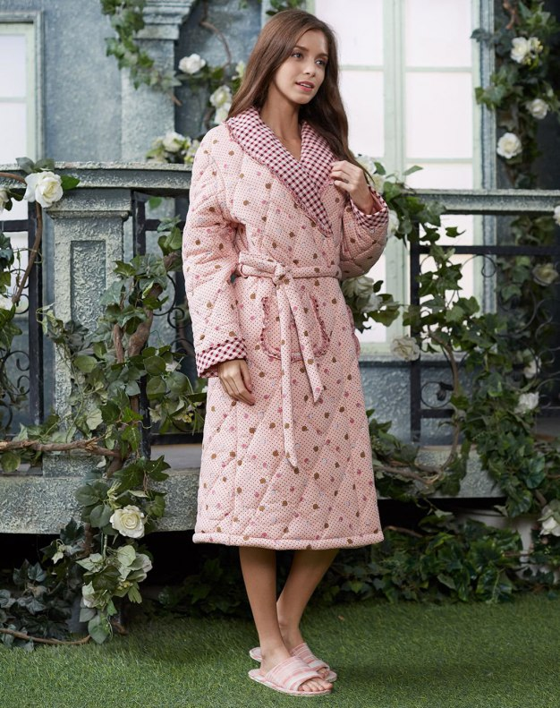 Ex Thick With Cotton Inside Women's Night-Robe