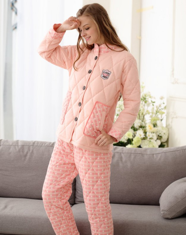 Sleeve Ex Thick With Cotton Inside Women's Loungewear