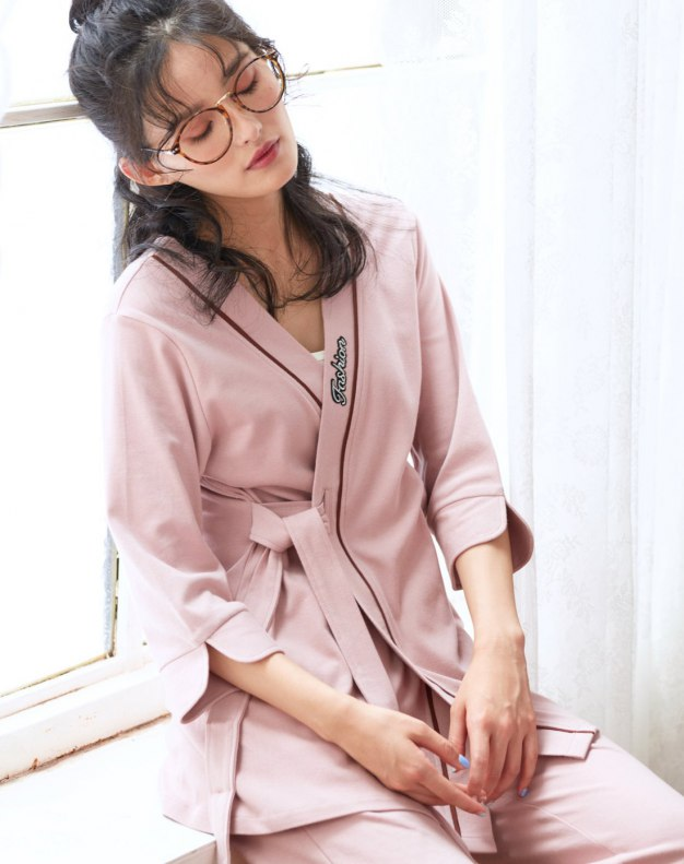 Cotton Sleeve Standard Women's Loungewear