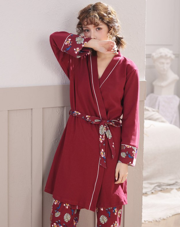 Cotton Sleeve Standard Women's Loungewear