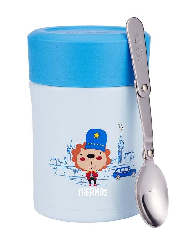 블루 진공 플라스크&보온기