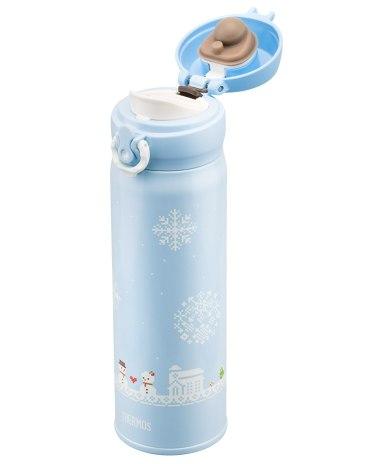 Blue Stainless Steel 401-500ml Bullet cups Vacuum Flask