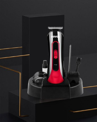 Red Adult Hair Clipper