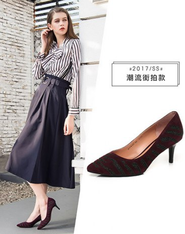 Pointed High Heel Women's Close Toe Shoes