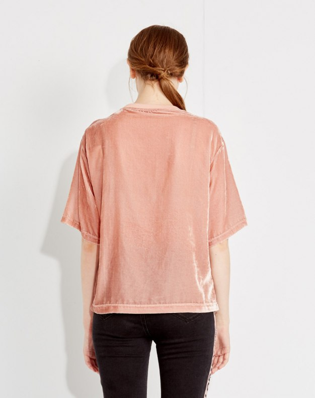 Others1 알파벳 반팔 티셔츠 표준 여성 블라우스
