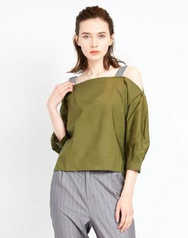 Green Women's Shirt