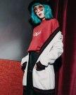 화이트 긴소매 표준 여성 스웨터