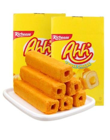 리치즈 아하 트리플 치즈바 스낵 400g*2팩