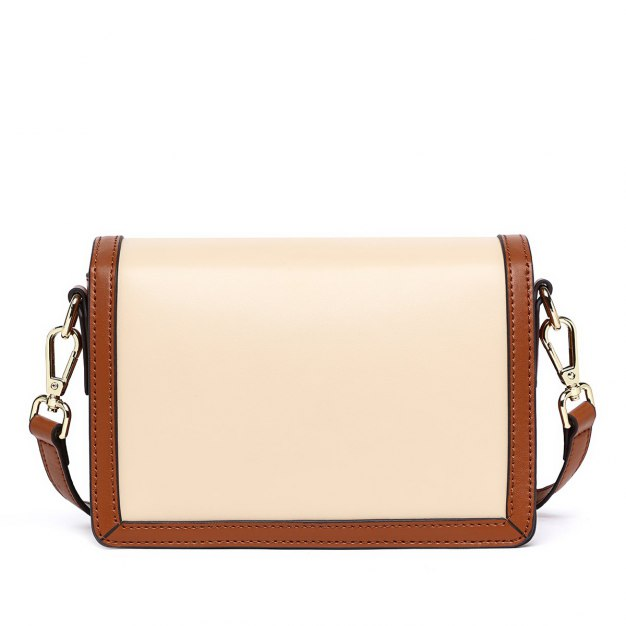 Color Block Small Women's Crossbody Bag