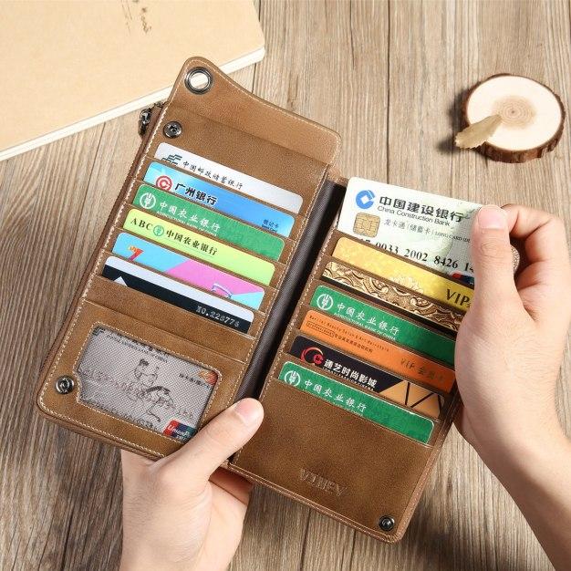 Plain Small Men's Wallet & Card Case