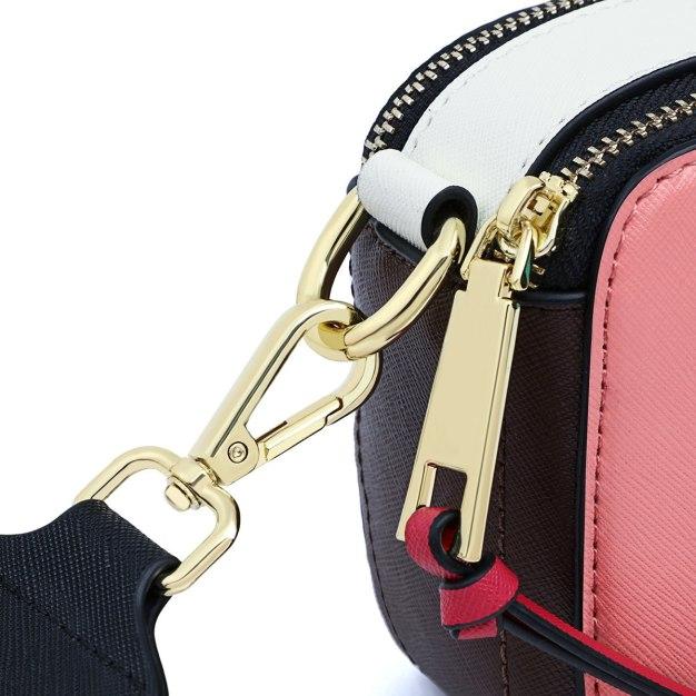 Color Block Small Women's Crossbody Bag
