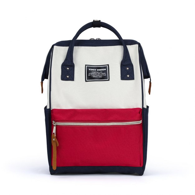 Medium Color Block Women's Backpack