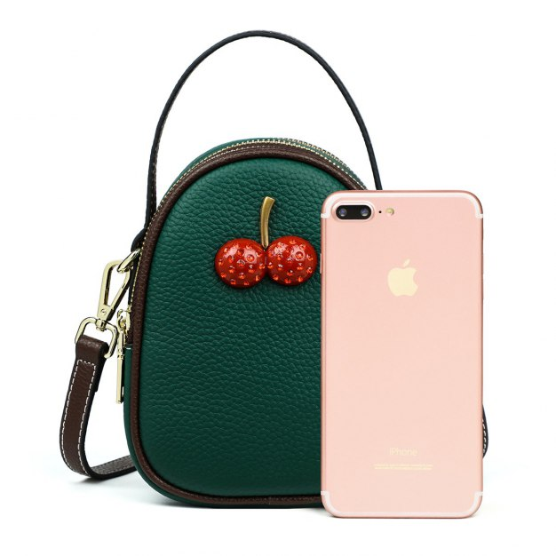 Green Fruit Small Women's Tote