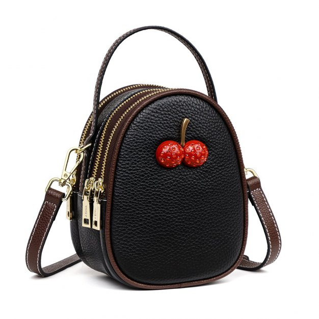 Black Fruit Small Women's Tote