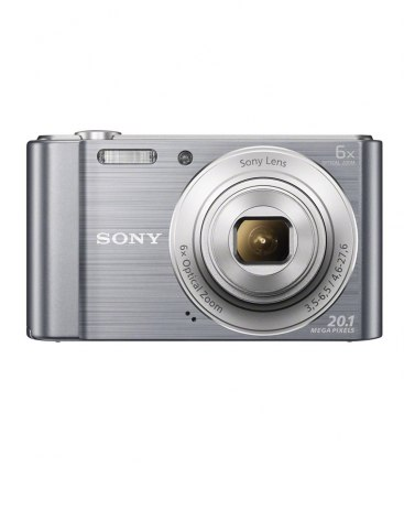 SONY 실버 디지털 카메라 DSC-W810