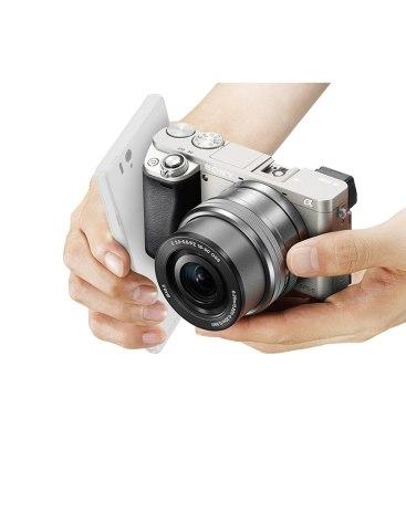 SONY 실버 디지털 카메라 ILCE-6000(E16-50mm)