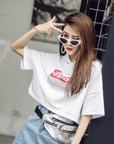 White Short Sleeve Anti-Pilling Standard Women's T-Shirt