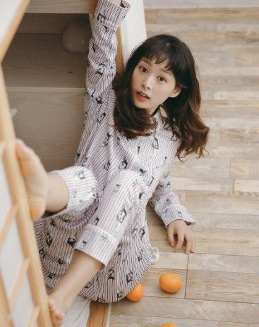 Cotton Sleeve Thin Women's Loungewear