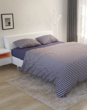 4 Pieces Fitted sheet Cotton Bedding Set
