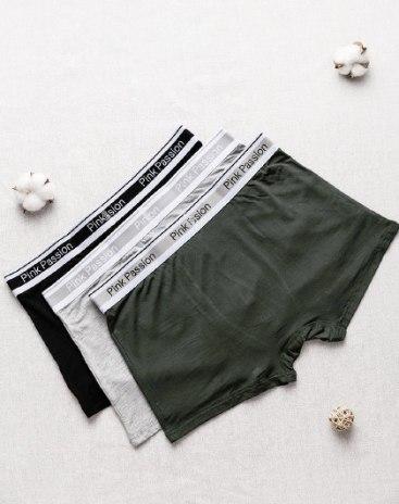 Green Polyamide Quick Drying Men's Underwear