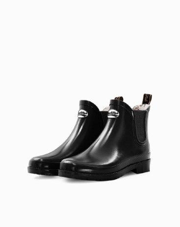 Round Head Low Heel Anti Skidding Women's Rain Boots