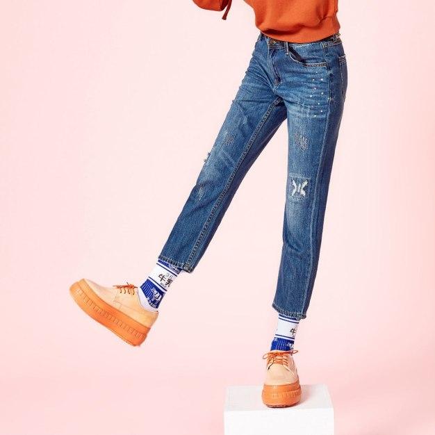 Black Ripped Women's Jeans