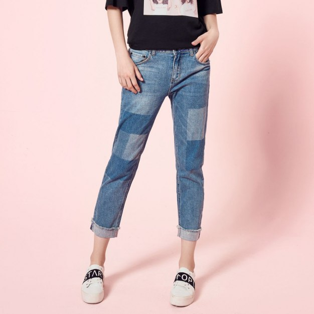Flanging Women's Jeans