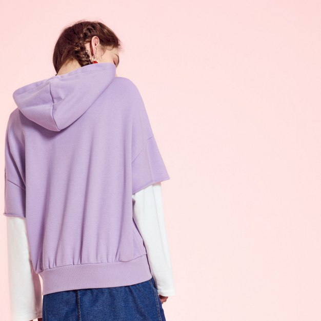 Long Sleeve Loose Women's Sweatshirt