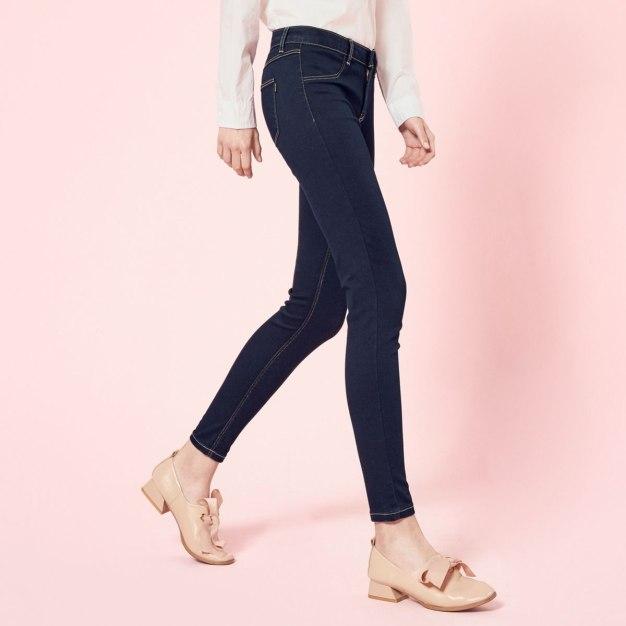Blue Pockets Women's Jeans