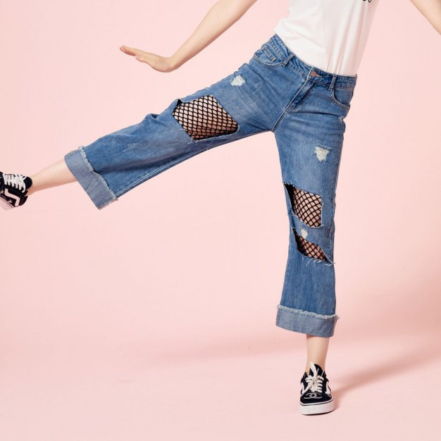 Ripped Women's Jeans