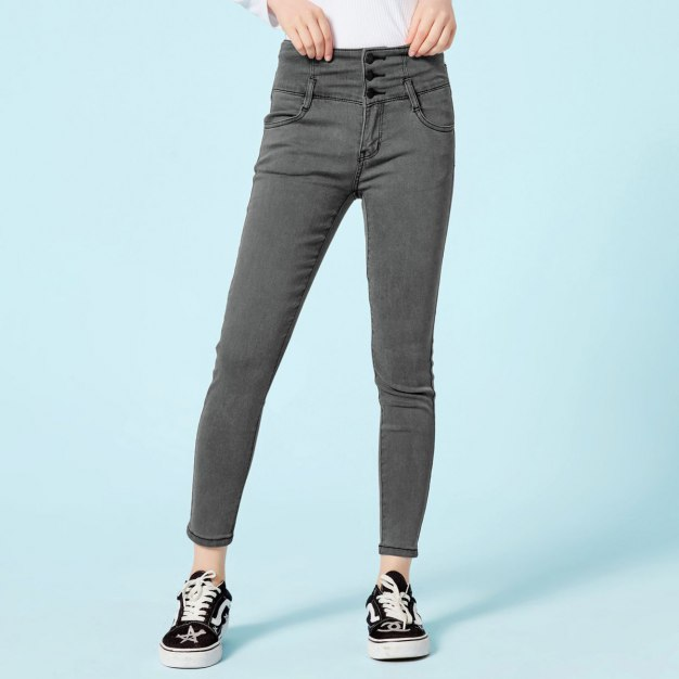 Button Fly Women's Jeans