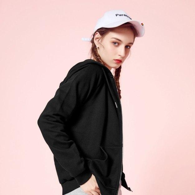 Plain Regular Collar Long Sleeve Standard Women's Jacket