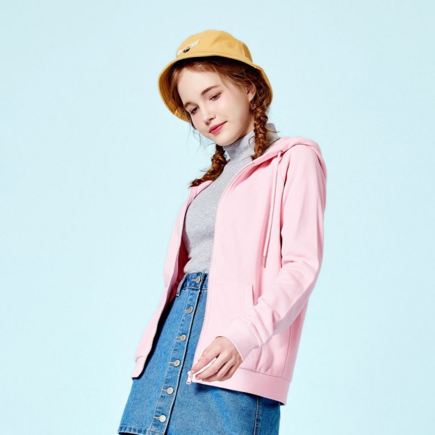 Plain Regular Collar Long Sleeve Standard Women's Jacket