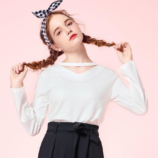 Beige Women's T-Shirt