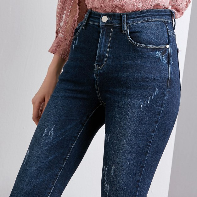 Blue Pockets Women's Jeans