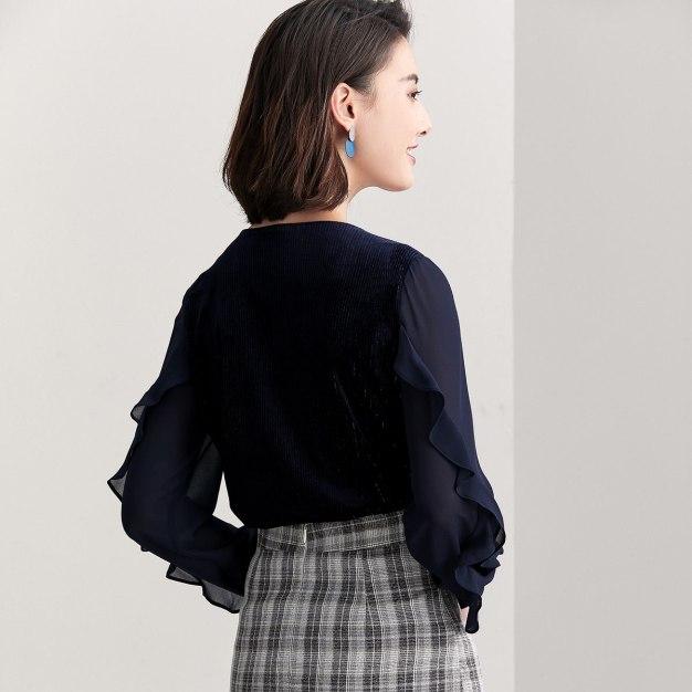 Blue Women's Sweatshirt